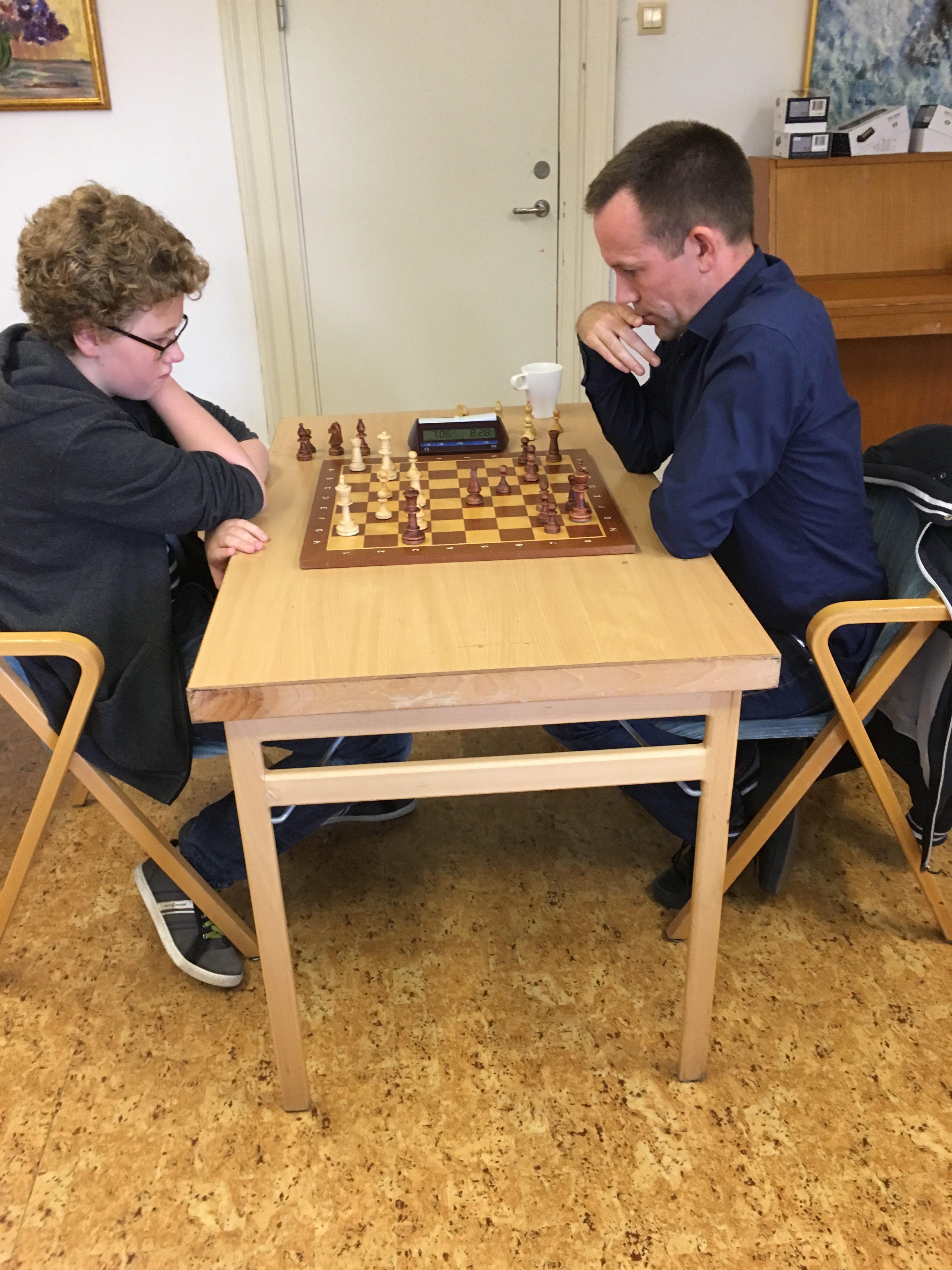 Nils Ledin mot Fredrik Josefsson