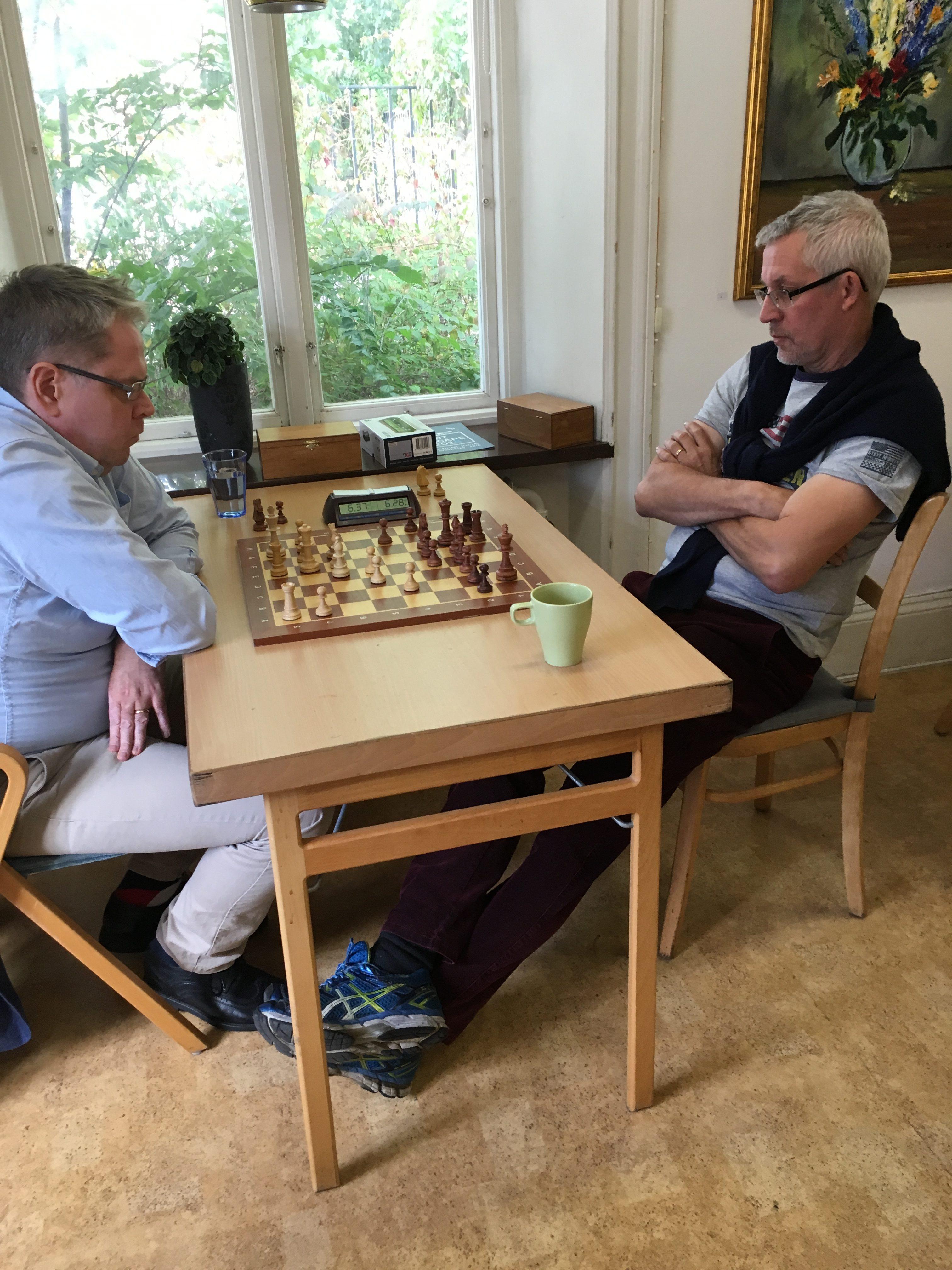 Gösta Svenn mot Ingvar Andréasson